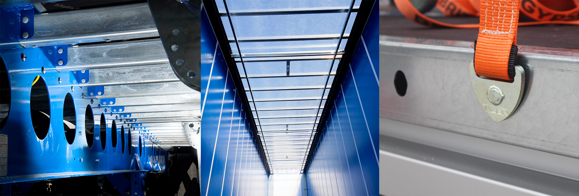Case study - British Gypsum XPO curtainsiders - lightweight clearspan pillarless roof captive rave load securing
