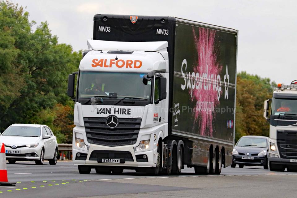 Superdrug double deck trailer spot - Tiger