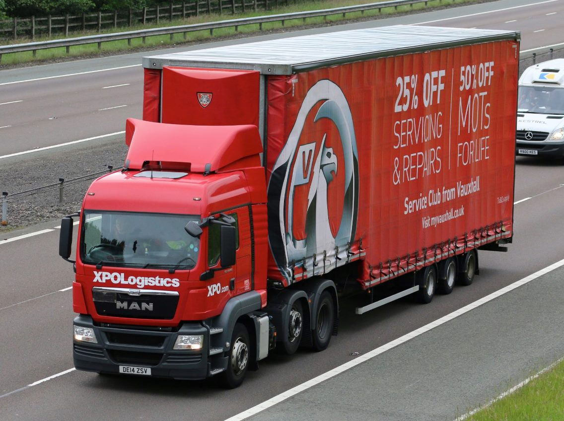 Tiger Trailers Vauxhall double deck curtainsider tag