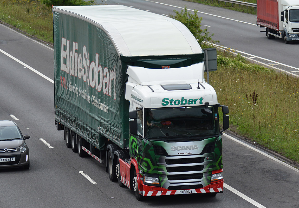 Another Eddie Stobart tag by Tim Pickford – curtainsider double deck