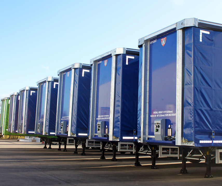 Finance - Tiger Trailers Leasing - curtainsider lineup generic 02