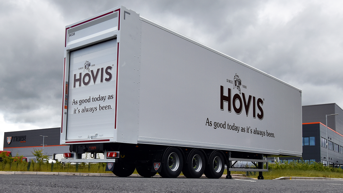 In-product CTA case study moving double deck Hovis new livery