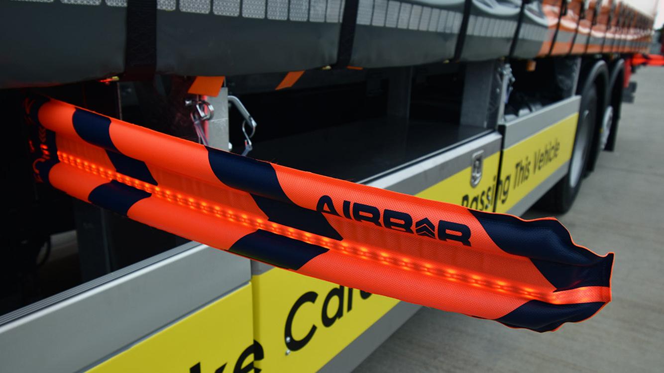 Univar Solutions rigid bodywork curtainsider NuVech AirBar safety