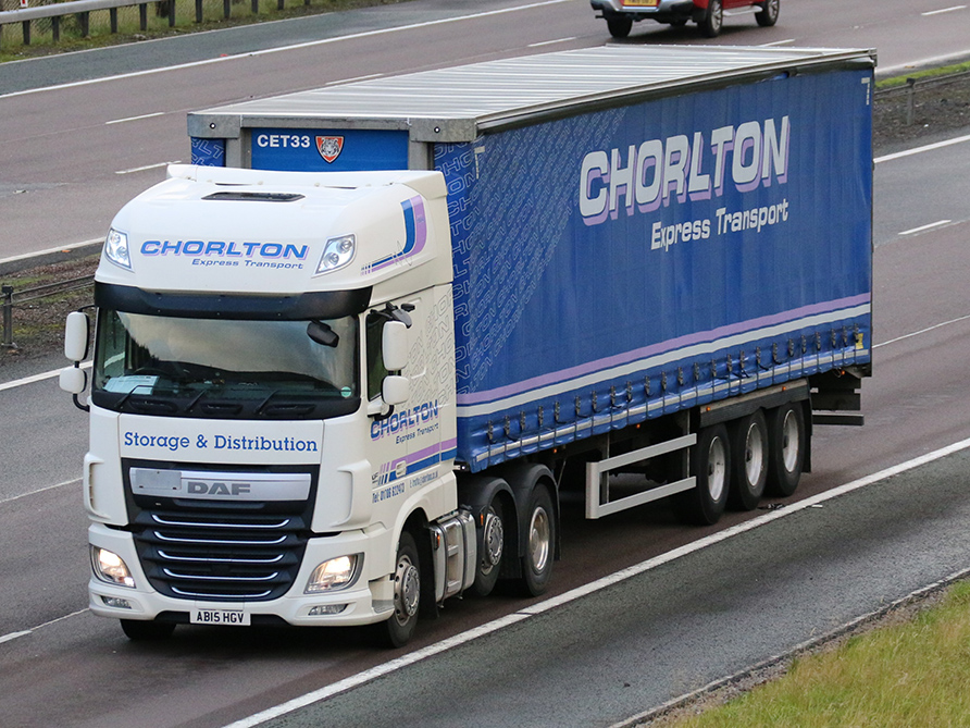 Tiger Chorlton Express Transport tagged by Tim Pickford
