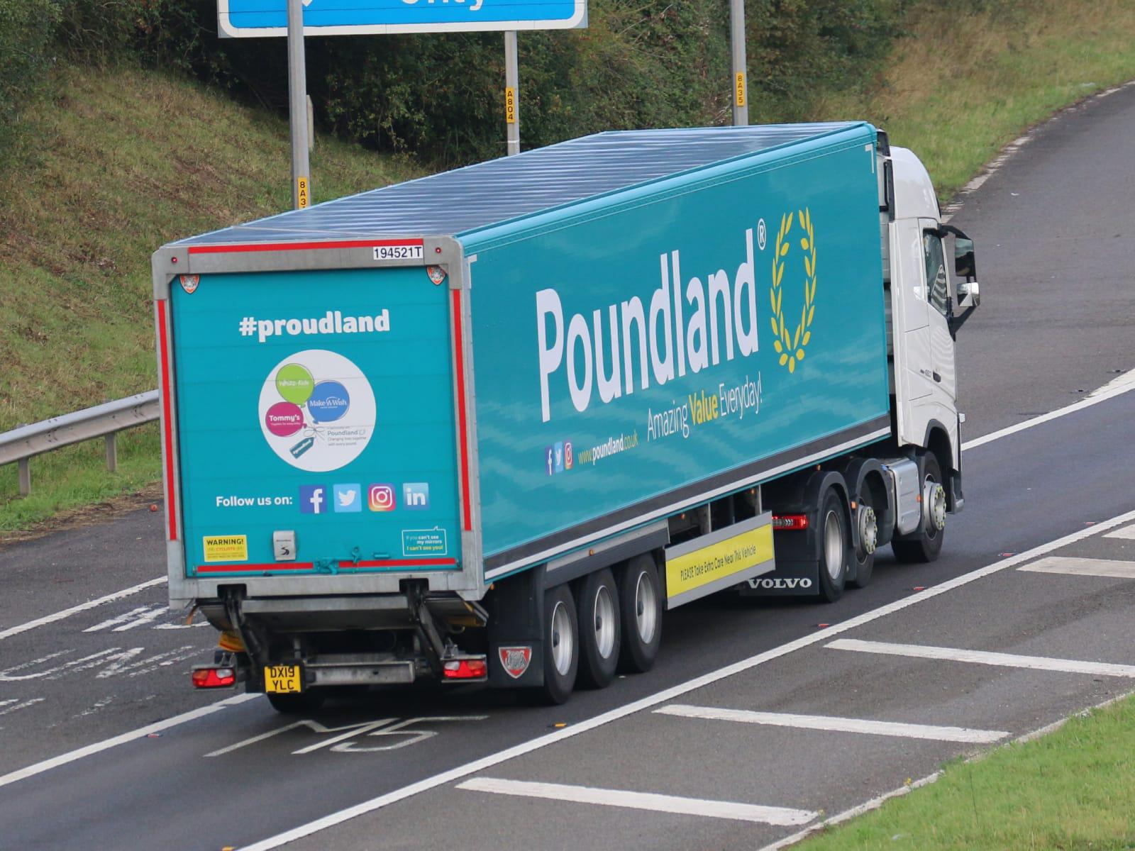Tiger Poundland box van trailer spot by Tim Pickford truck photography