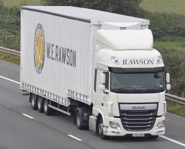 WE Rawson trailer spotted