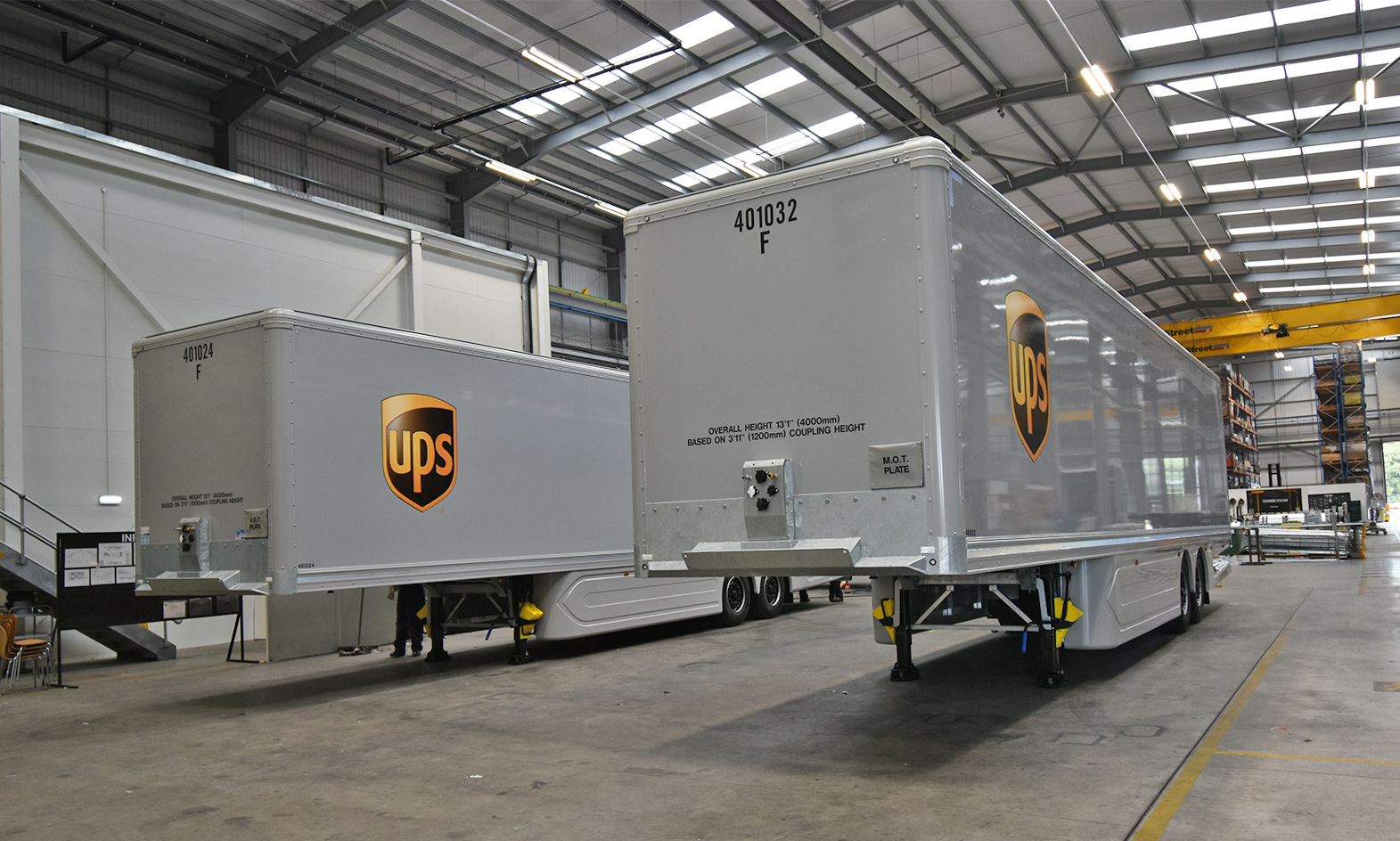 Our World In Profile Tiger Trailers factory production UPS