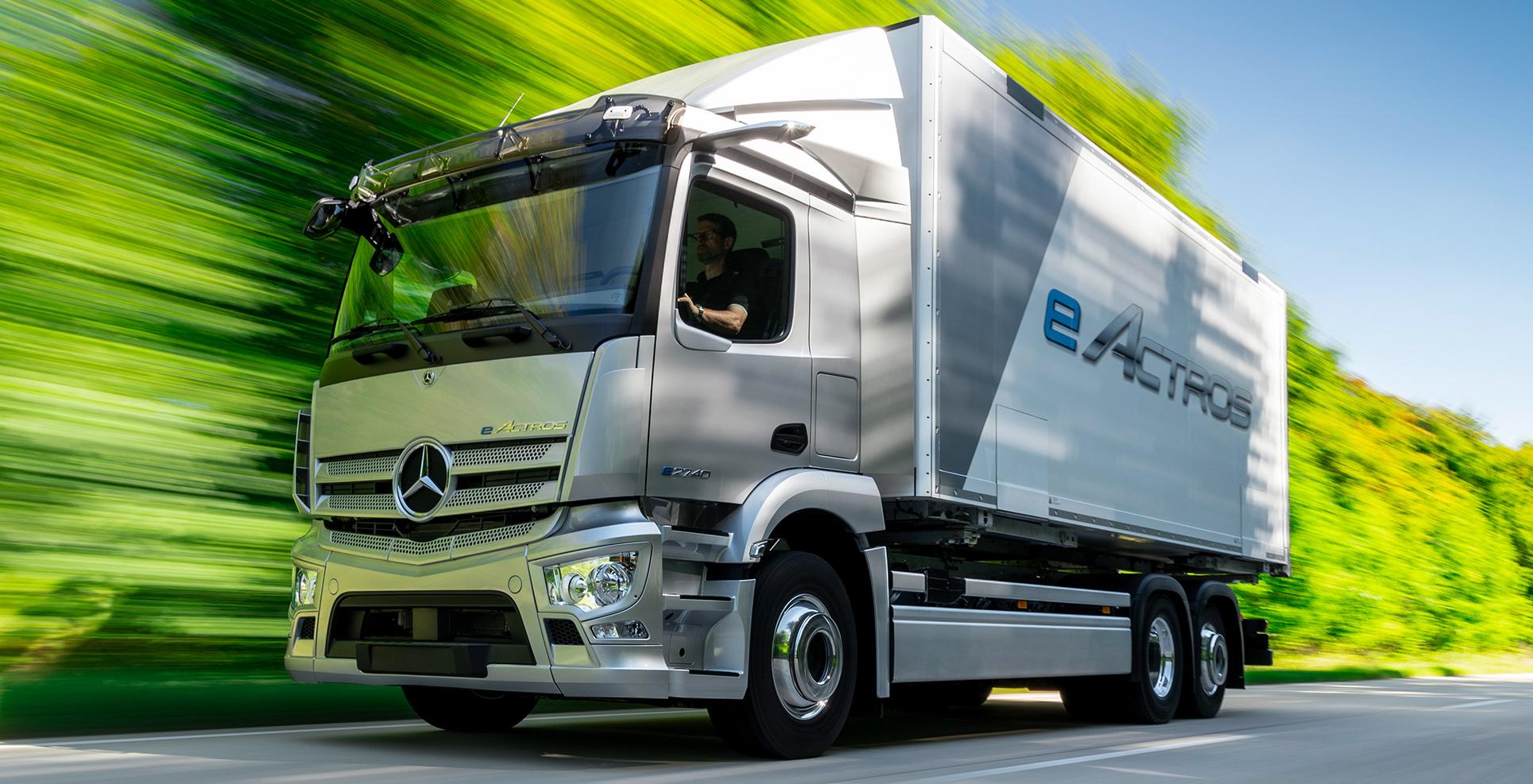 Mercedes eActros 26t rigid