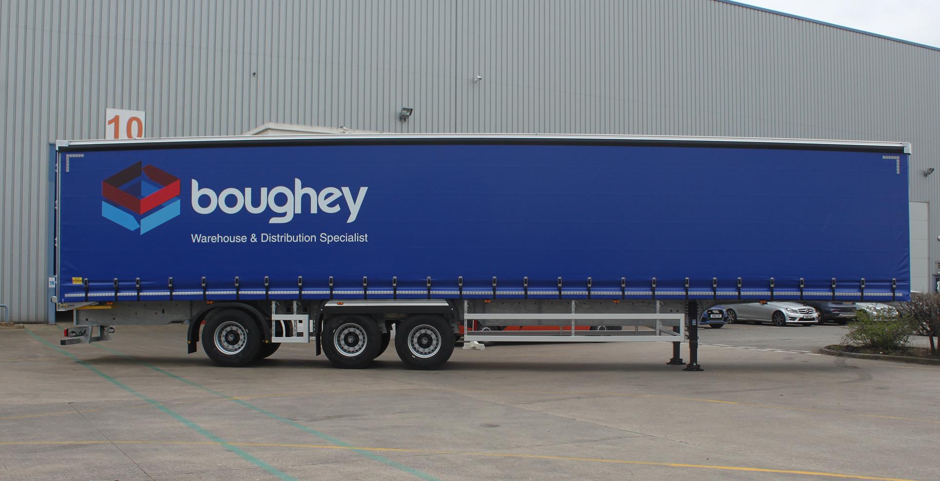 Longer Semi-Trailers LSTs Boughey Distribution