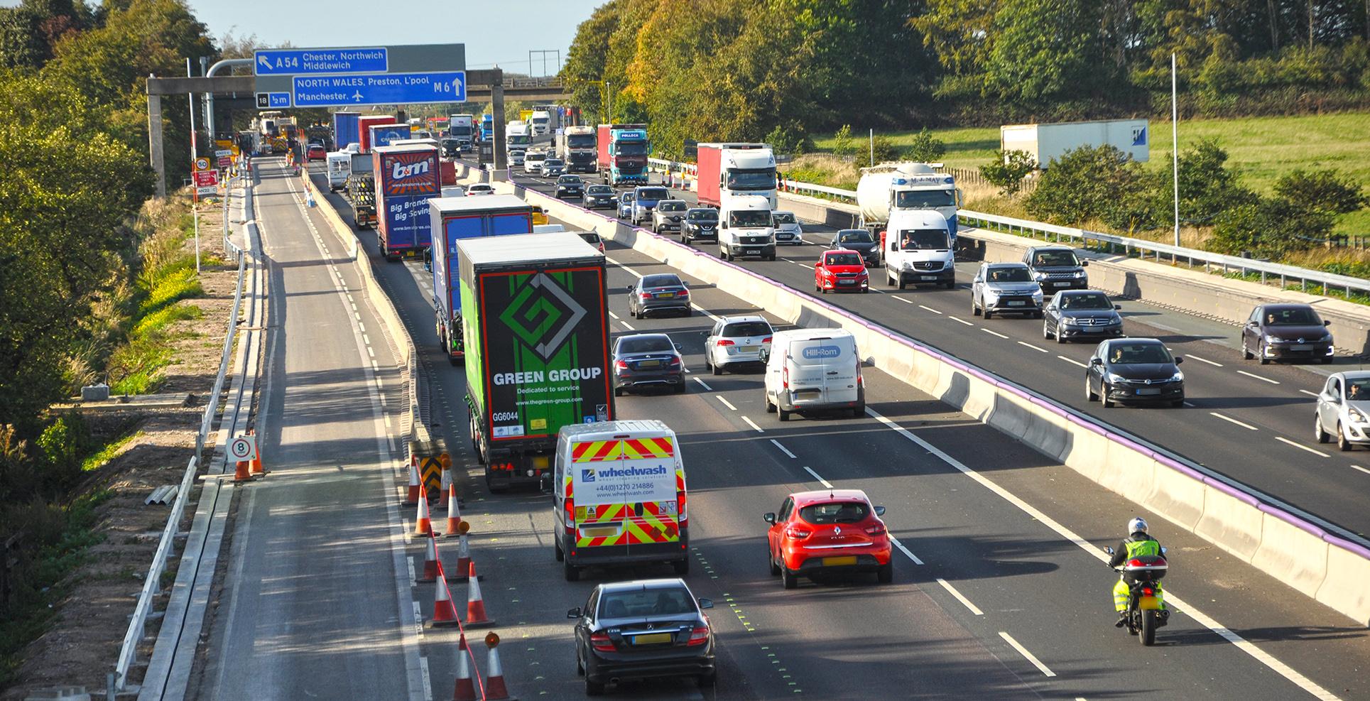 Road Transport Hub - Safety UK LCV HGV traffic levels statistics motorways