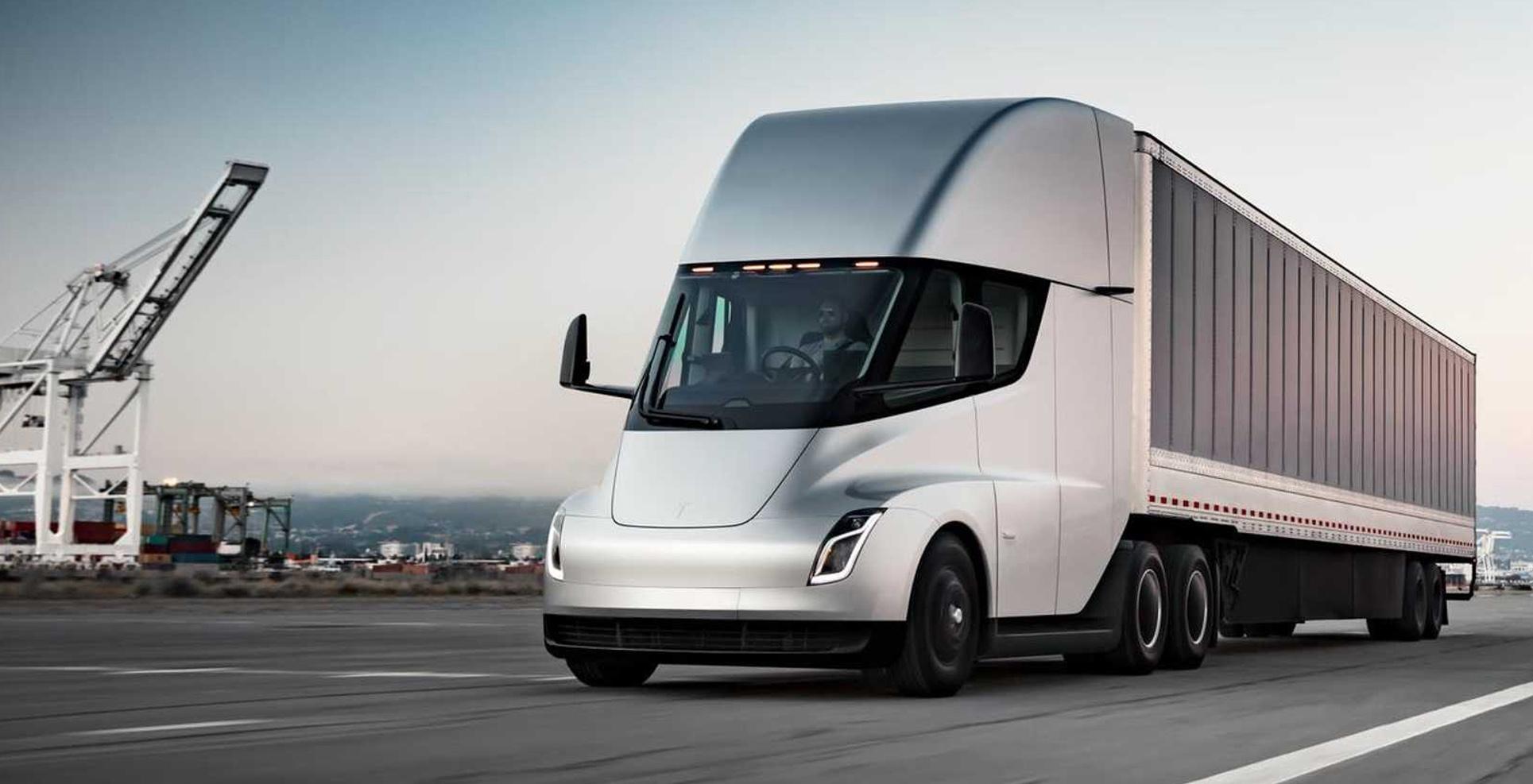 Tesla Semi all electric class 8 truck
