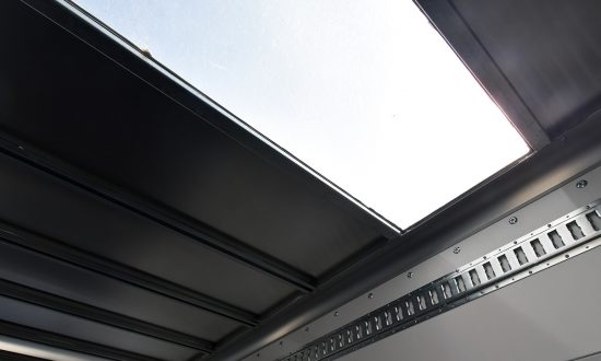 GRP translucent roof panel