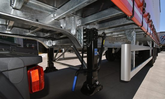 Galvanised Chassis