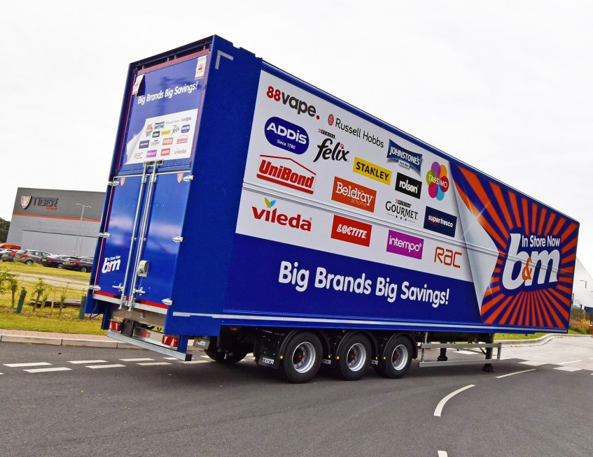 Variety retailer B&M adds an extra twenty-one 52-pallet Tiger fixed double decks to its fleet