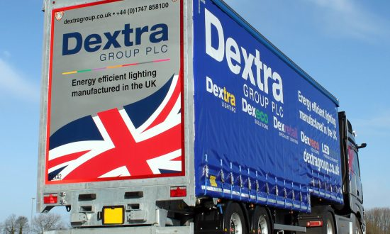 Dextra lights the way with a custom Tiger Trailer and cutting-edge Actros