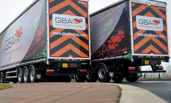An initial twenty Tiger curtainsiders introduced to GBA Services' fleet