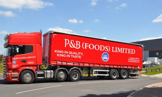 P&B Foods gets its first taste of Tiger with a customised urban curtainsider trailer