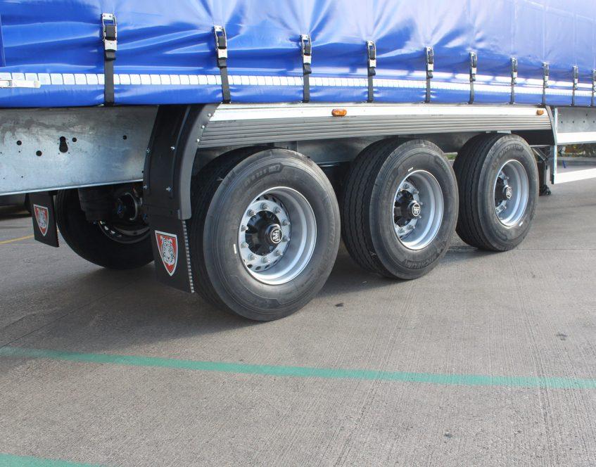 News - Boughey Distribution Nantwich Cheshire curtainsider fleet Michelin tyre policy mud splash guard