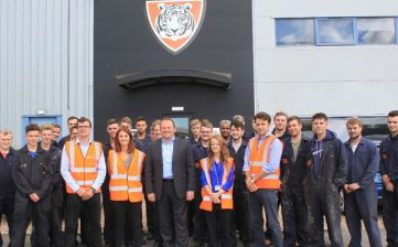 Tiger Trailers continues roaring success of its apprenticeship scheme
