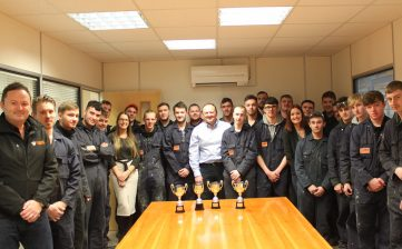 New breed of apprentices earn their stripes