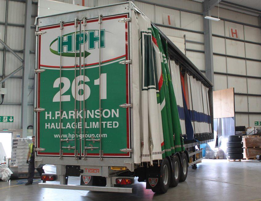 Curtainsiders for H Parkinson Haulage HPH Lancashire