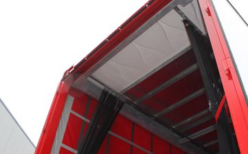 News - Farralls Group warehousing storage distribution curtainsiders load securing straps roof