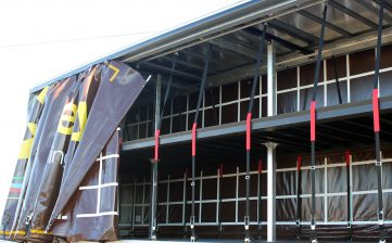 News - Gregory Distribution innovative removable double deck internal load securing straps