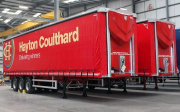 News - Hayton Coulthard Scottish haulier curtainsider fleet factory