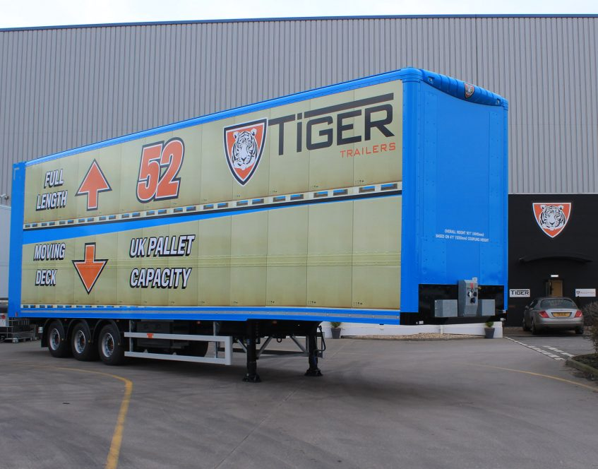 News - Innovative UK British manufacturer commercial vehicles bodywork Cheshire first 52 pallet moving double deck front