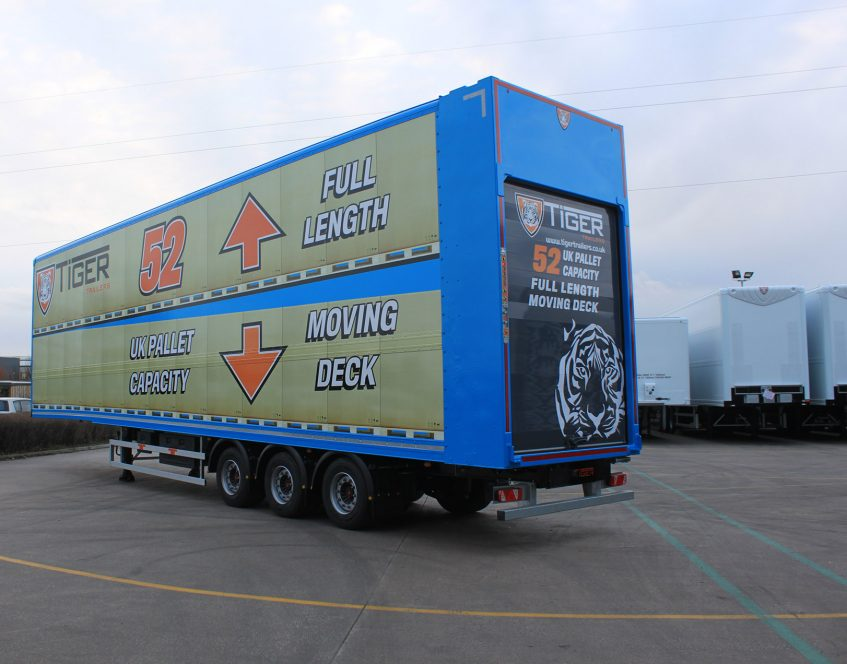 News - Innovative UK British manufacturer commercial vehicles bodywork Cheshire first 52 pallet moving double deck rear