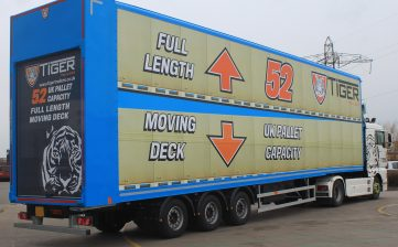 News - Innovative UK British manufacturer commercial vehicles bodywork Cheshire first 52 pallet moving double deck shunter