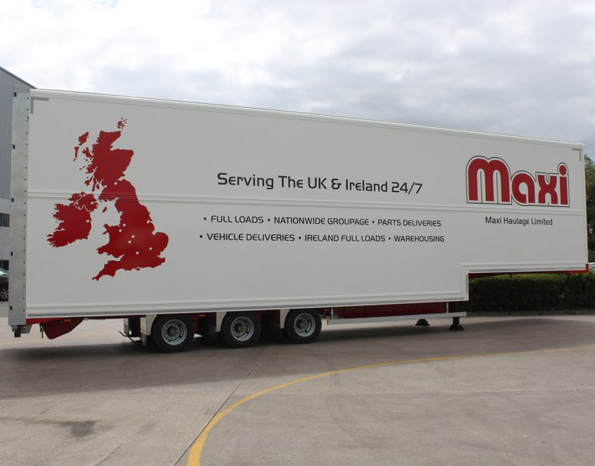 News - Maxi Haulage innovation double deck Irish ferry 465m height restriction cages retail