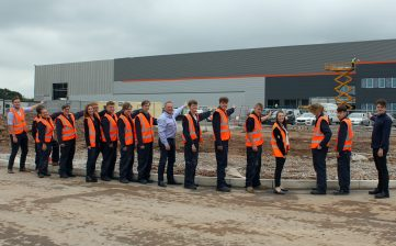 New apprentices ready to roar into state-of-the-art training facility