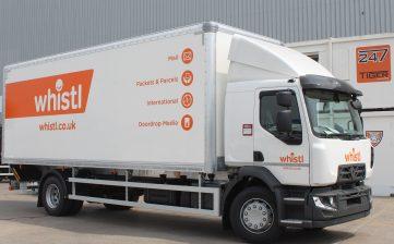 News - Rigid truck body manufacturer Renault for Whistl