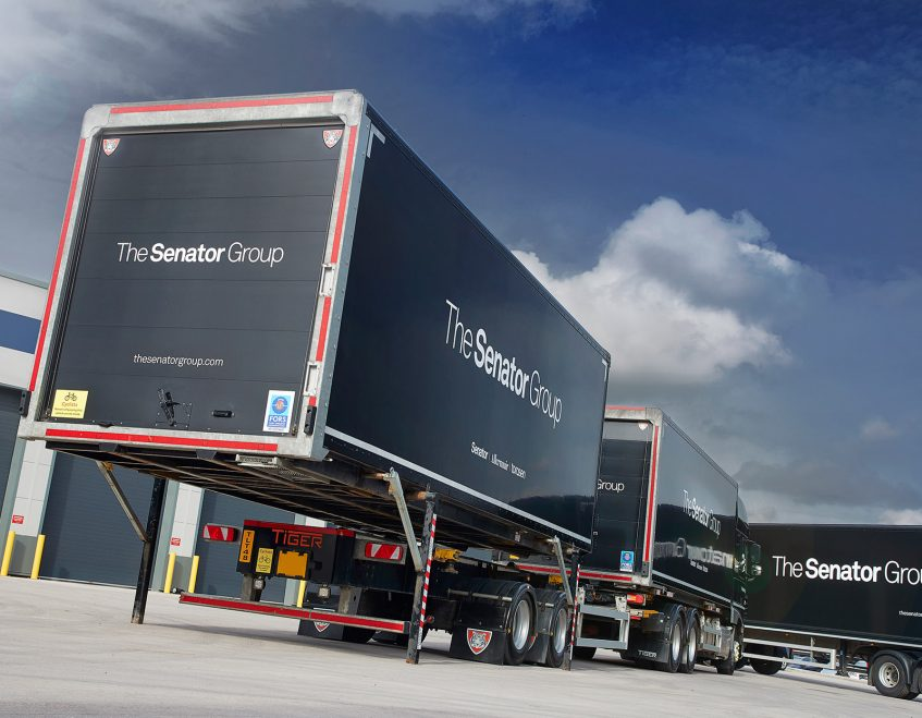 News - Senator furniture (Lancashire) - swap body prime mover demountable drawbar action