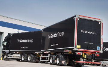 News - Senator furniture (Lancashire) - swap body prime mover demountable drawbar