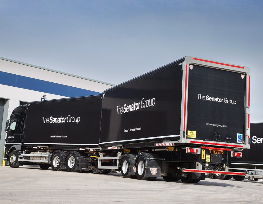 News - Senator furniture (Lancashire) - swap body prime mover demountable drawbar