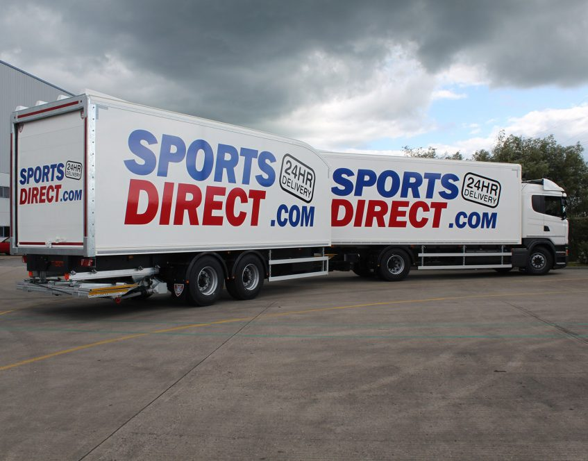 News - Sports Direct rigid drawbar prime mover swap body trucks trailers 01