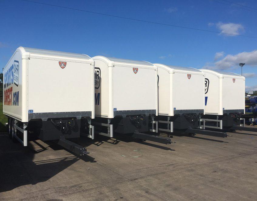 News - Sports Direct rigid drawbar prime mover swap body trucks trailers fleet assets