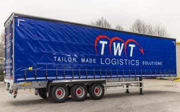 TWT Logistics Group curtainsiders - straps