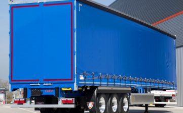 Tata Steel - lightweight clearspan pillarless curtainsider - chassisTata Steel - lightweight clearspan pillarless curtainsider - efficient