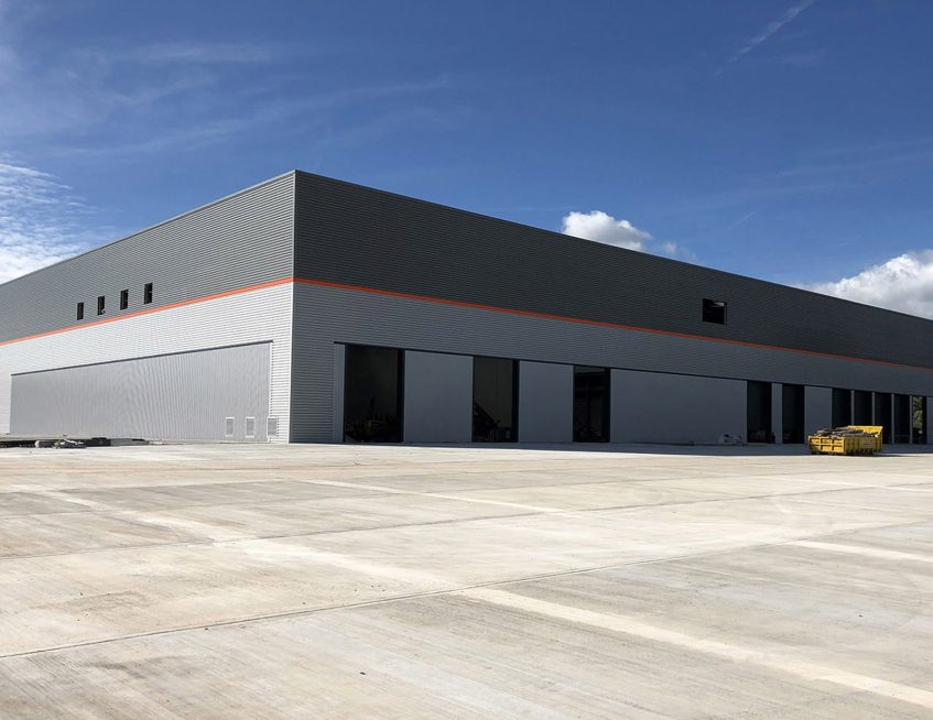 New Winsford Industrial Cheshire factory