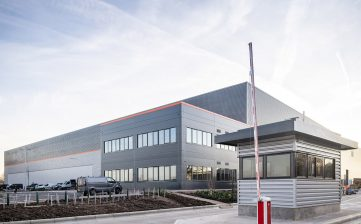 Relocation to new Winsford Cheshire manufacturing factory