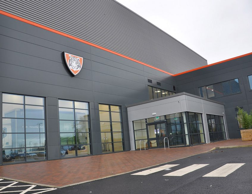 Relocation to new Winsford Cheshire manufacturing factory - showroom