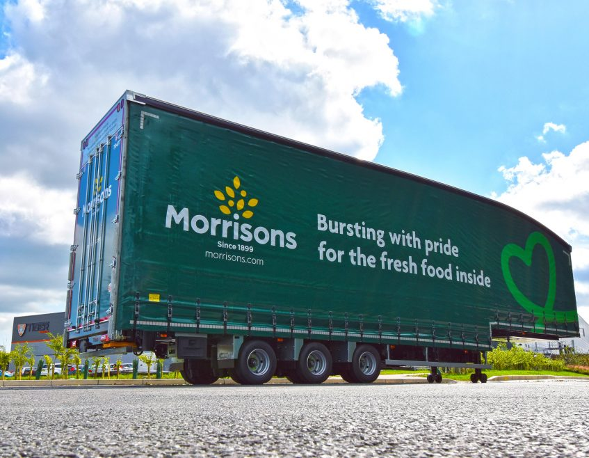 Morrisons boosts fleet efficiency and versatility with significant ambient moving double deck order