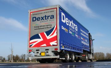 Dextra double deck curtainsider - galvanised with ECOLED lights