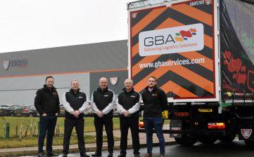 GBA Services tallboy curtainsiders - Birkbeck team