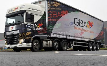 GBA Services tall curtainsiders at Tiger factory
