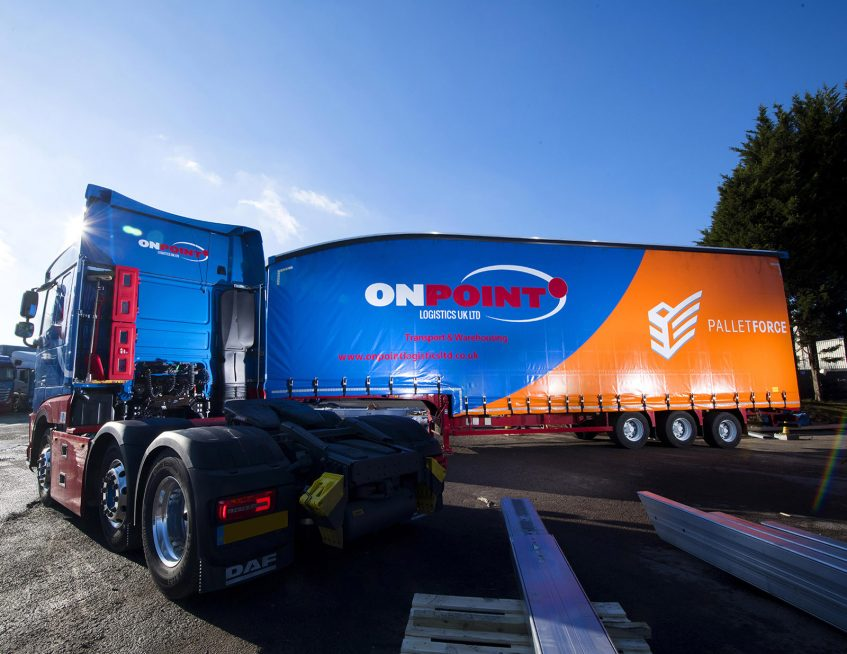 OnPoint Logistics straight frame double deck tall boy