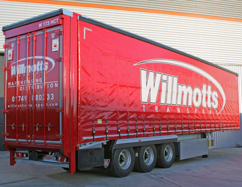 Tiger Trailers news - Willmotts curtainside order
